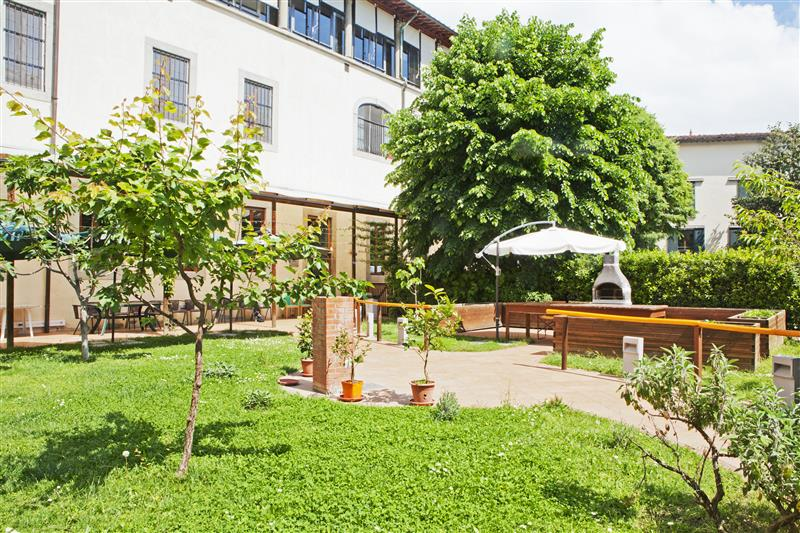 Il giardino del Centro Diurno Athena